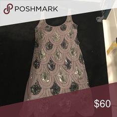 Aqua sequin dress Sequin dress, only worn once Aqua Dresses Mini
