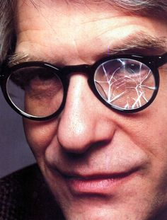 David Cronenberg through the looking glass. #CronenbergEvolution #CronenbergProject
