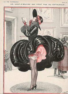 Miss Meadows' Pearls: La Vie Parisienne. Precedes the infamous Marilyn Monroe air grate photo.