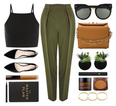 """Master Plan"" by smartbuyglasses-uk ❤ liked on Polyvore featuring Topshop, STELLA McCARTNEY, Alexander McQueen, MANGO, Becca, Eccolo, MAC Cosmetics, Lancôme, Perricone MD and Fashion Fair"