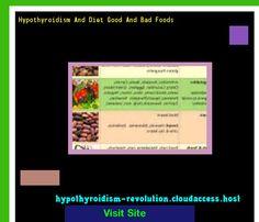 Hypothyroidism And Diet Good And Bad Foods 120913 - Hypothyroidism Revolution!
