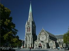 Cathedral Square has always been the heart of Christchurch. According to English tradition, the presence of a cathedral meant that Christchurch was officially a city well before the size of its population justified this status. New Zealand. Places To See, Places Ive Been, House Relocation, Anglican Cathedral, Christchurch New Zealand, Houses Of The Holy, Sacred Architecture, Place Of Worship, Capital City