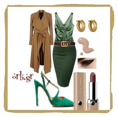 So green#orli.gr by orlibyorsalias on Polyvore featuring polyvore, fashion, style, Roberto Cavalli, Plein Sud, J.TOMSON, Linda Lee Johnson, Gucci, Marc Jacobs and clothing