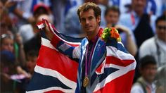 Murray celebrates Tennis gold
