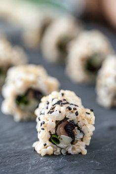 Keepin It Kind: Smoky Roasted Portobello Sushi Rolls