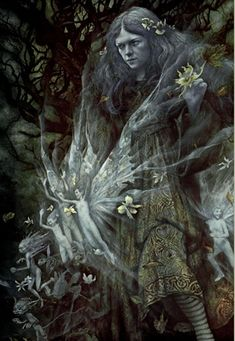 Brian Froud is an English fantasy illustrator. by Brian Froud. Twilight (From the Realms of Faerie).