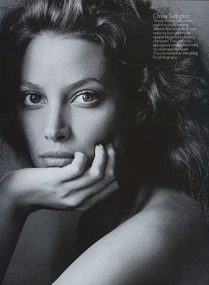 """""""Nobody's Perfect"""" Vogue (1994) photographed by Irving Penn"""