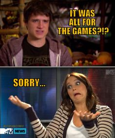 It was all for the games?!?