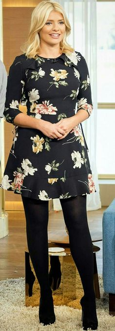 Holly wears some of the most gorgeous clothes on This Morning, and her hair and makeup are always beautiful!