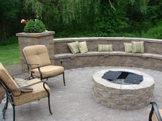 Wouldn't it be nice to enjoy your Cambridge fire pit during the cool fall weather?