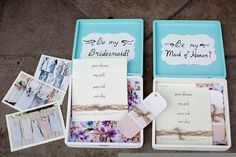 Will You Be My Bridesmaid Box by thefathomsbelow on Etsy