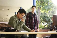 "teenwolf: ""what is scott so focused on? "" - New Season 6 still"