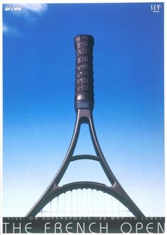 Advertising Poster for the French Open.