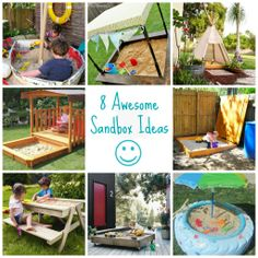 8 Awesome Sandbox Ideas