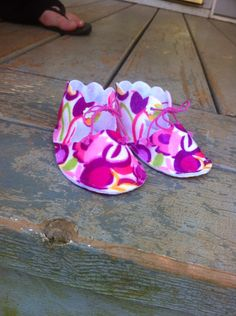 Booties by me!