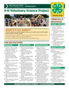 MI 4-H Veterinary Science Project Snapshot