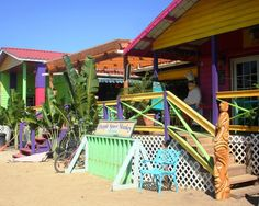 Plancencia Belize Photo Gallery: The Purple Space Monkey in Placencia, Belize