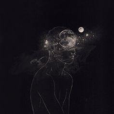 La luna en tu mente.