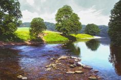 Landscape Oil Paintings By British Artist Michael James Smith