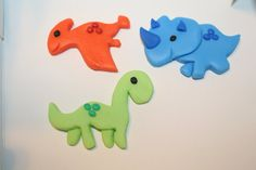 Baby Dinosaur Cupcake or Cookie Toppers - 12 Count, Edible