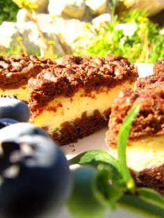 Kakaowy sernik | Cheesecake with cocoa