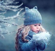 ❄️ Winter blue is magic❄️