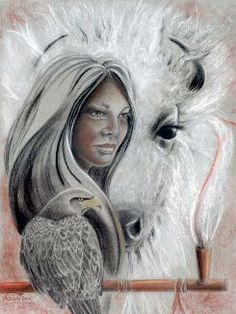 White Buffalo Woman. Feeling honored to be and adopted member of the Lakota tribe.