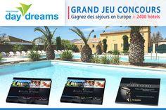 Concours exceptionnel : gagnez 30 séjours avec Daydreams (coffrets 3 nuits, 6 nuits ou coffrets carte Gold)