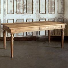 Primitive Farmhouse Dining Table