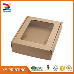 Hamper Gift Box Small Kraft With Clear Lid La Sparkle Pinterest