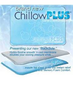 Chillow Cooling Pillow, Soothsoft Chillow, Cooling Pillow, www.keepdoggiesafe.com
