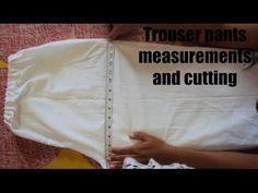In this video you learn ladies trouser pant cutting and stitching very easily in hindi. cut out trousers cut trousers cutting and stitching of trouser cuttin...