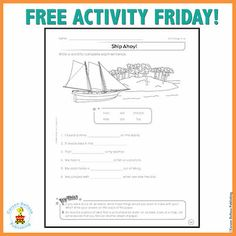 Click on the image to get this free printable activity!