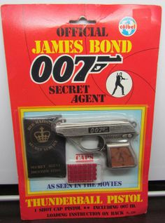 Vintage COIBEL Official James Bond 007 by ShellysVintageFinds, $79.99