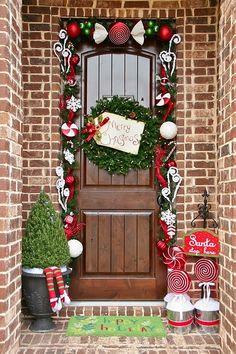 Así va a ser la puerta de mi casa... Todo el año.