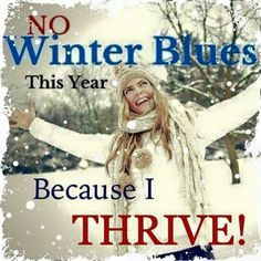 Winter weather discomforts? Thrive is an All natural supplement that helps with that and more! https://cecilymyers.le-vel.com/