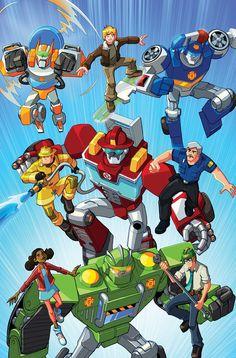 Botcon 2013 Resuce Bots Image by markerguru on DeviantArt Transformers Prime, Arcee Transformers, Rescue Bots Cake, Rescue Bots Birthday, Halloween 2018, Transformers Birthday Parties, Transformer Birthday, Arte Robot, Fanart