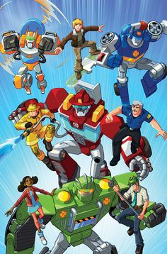 TransFormers Series   Rescue Bots