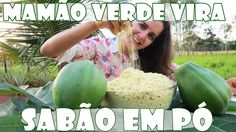 SABÃO EM PÓ DE MAMÃO VERDE - ECOLOGICAMENTE CORRETO com Fran Adorno