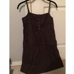 Juicy Couture dress, NWOT Brown w great detail, never worn. Super cute!! Juicy Couture Dresses