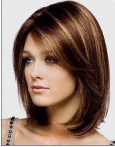 Mittellange Frisuren Damen Damen Frisuren Mittellange Haircut