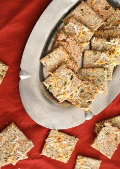 Low Carb Cheddar Cracker Recipe