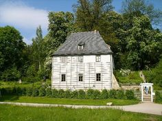 Goethe's Home at Weimar, Germany