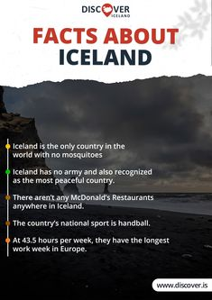 Why Iceland Deserves The First Spot On Your List Once The Coronavirus Crisis Is Over Iceland Facts, Mcdonald's Restaurant, Iceland Travel, Travel And Tourism, Countries Of The World, Fun Facts, Peace, Europe, World Countries