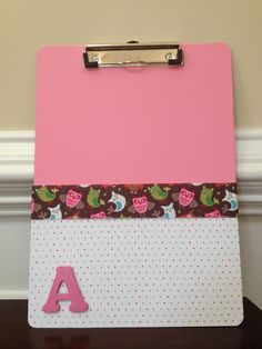 Fun personalized gift for student or teacher. Made in all colors/styles.  Ask for your initial.