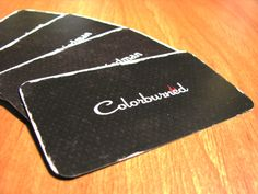 Colorburned Business Cards by Colorburned (via Creattica)