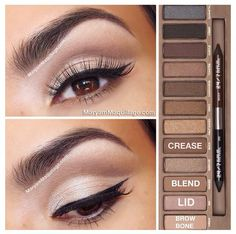 Naked palette, I have this and I need to use it better