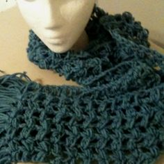 Loose crochet scarf This I want to make!!!!!!