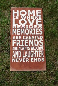 Items similar to Home is Where Love Resides wooden sign, family rules typography wooden sign, family rules, on Etsy Home Quotes And Sayings, Sign Quotes, Great Quotes, Quotes To Live By, Inspirational Quotes, Family Rules, Family Signs, Birthday Girl Meme, Thing 1