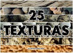 Pack gratuito de 25 Texturas HD de Roca y Piedras.